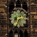 clock in Magdeburg (D)