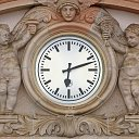 clock in Bad Nauheim (D)
